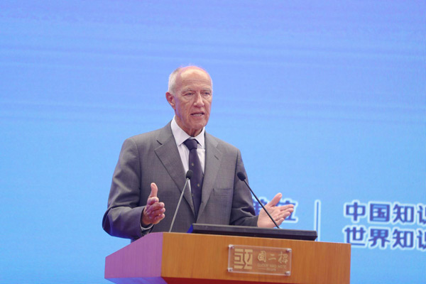 弗朗西斯·高锐:中国..申请量154万件 占全球46%