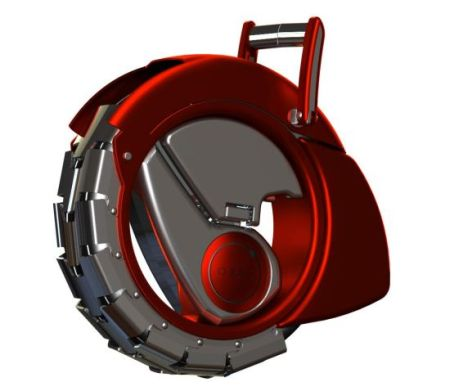 创意生活:独轮折叠电动车(图)